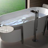 Акриловая ванна Orans BT-NL602-3
