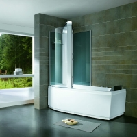Комбинированная гидромассажная ванна с душем Orans OLS-BT9501B